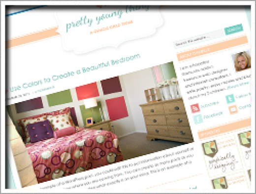 Wordpress Pretty Young Thing Theme