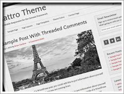 Wordpres Quattro Theme