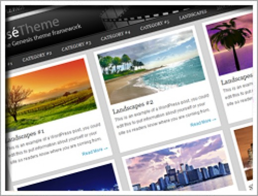 Wordpress Expose Theme