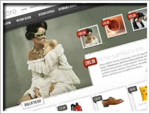 Wordpress eStore Theme