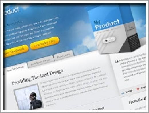 Wordpress My Product Theme