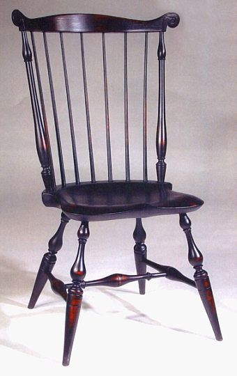 Boston Fan-Back or Nutting Windsor Chair - Wallace