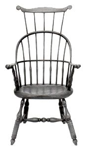Triple Back Windsor Chair - Matthew Stein