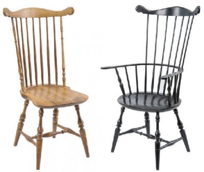 Comb-Back Windsor Chairs