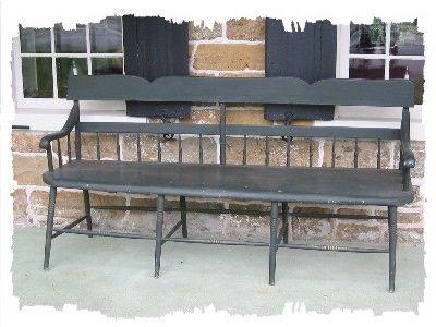 Half Spindle Windsor Bench