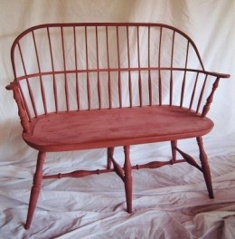 Windsor chair - sackback settee- Randall Henson