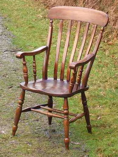 Lath-Back Windsor Chair