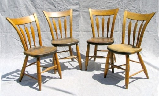 Arrow-back Windsor Chairs