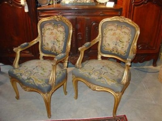 Louis XV Style - A Photo Guide To Antique Chair Identification Dengarden