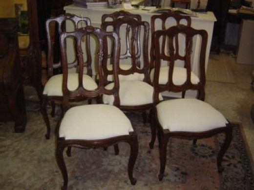 Antique Dining Room Chairs Styles a photo guide to antique chair identification | dengarden
