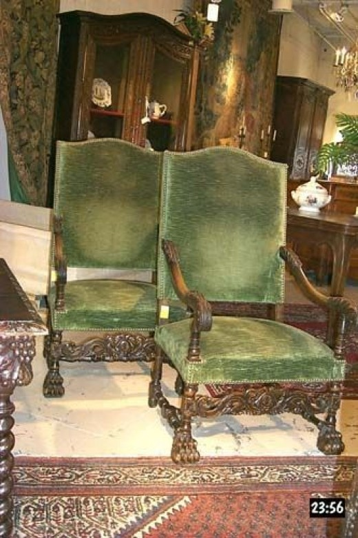 Louis XIII Style Chairs - A Photo Guide To Antique Chair Identification Dengarden