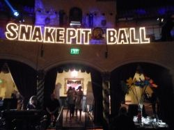 Snake Pit Ball Main Theater Entrance