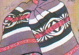 Blanket wrap design for Sotho men