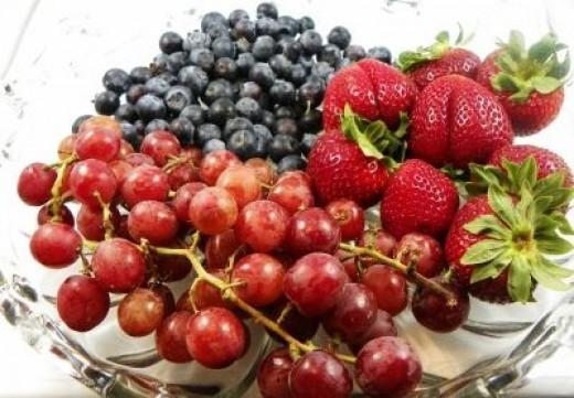 Fresh Never Frozen Fruit