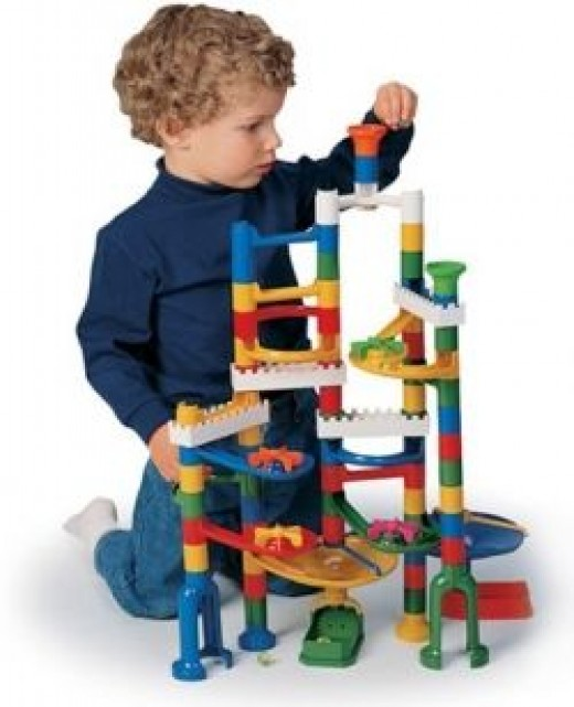 Marble run for 4 year old