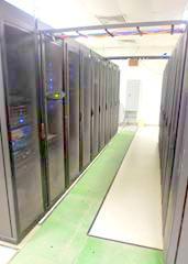 Server farms.