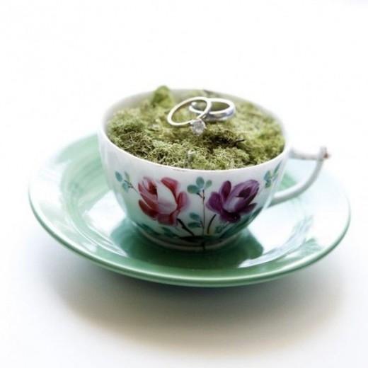 Tea themed ring bearer idea 2