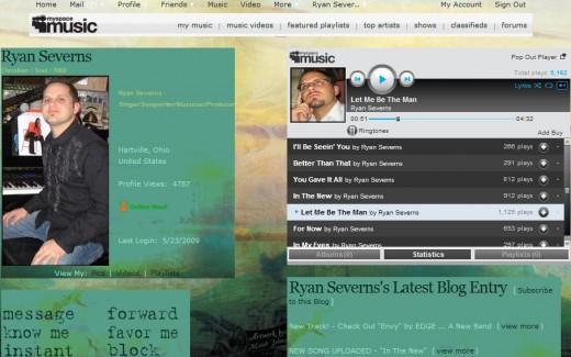 http://www.myspace.com/ryanseverns
