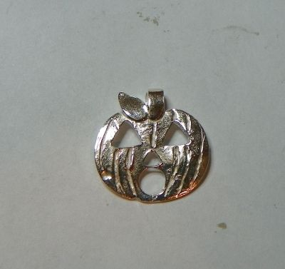 Clean and Polished Pumpkin Pendant