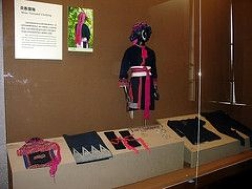 Miao Minority Group National Clothing
