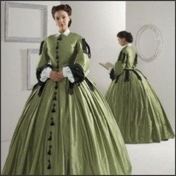 How-To Wear Civil War Era Dresses