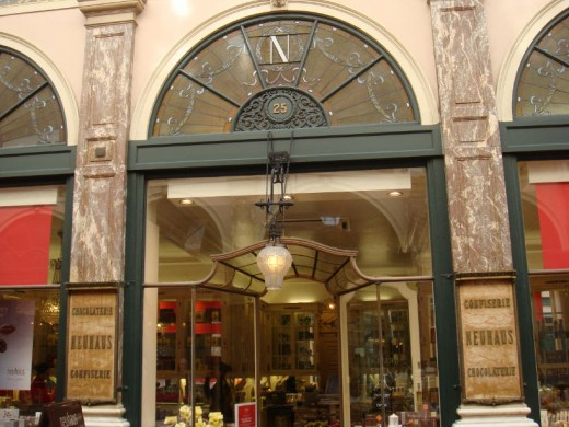 "Neuhaus ""headquarters"" in Brussels, Galeries St. Hubert"
