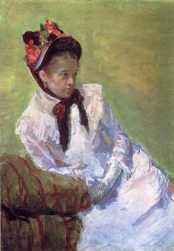 Self Portrait Mary Cassatt