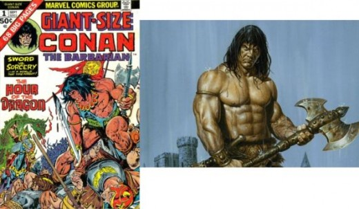 Conan The Barbarians is Marvel's #1 Barbarian