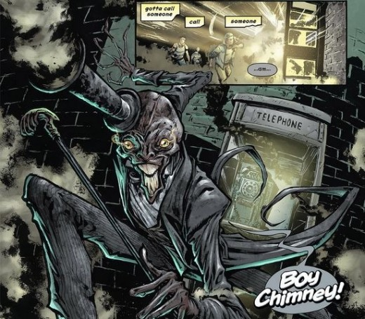 Boy Chimney is one of the weird characters from Dial H #1 (2012)