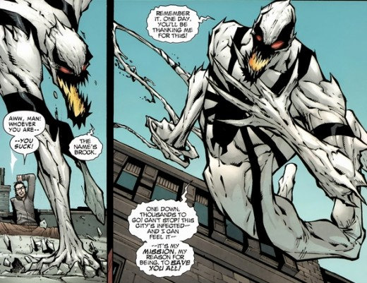 Amazing Spider-Man #668: Anti-Venom, trying to save the city.
