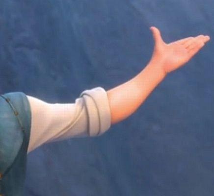 Sleeve length arm horizontal