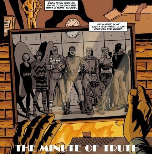 Excerpt from Before Watchmen: Minutement #1 (2012)