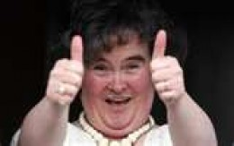Its thumbs up for Susan after her adition