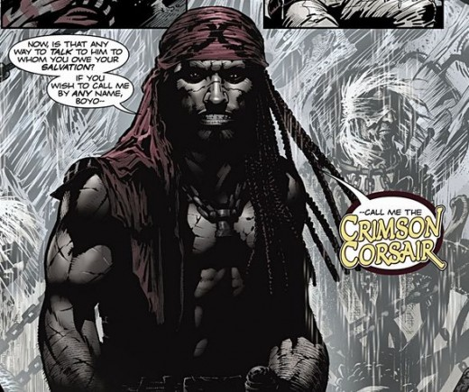 The Crimson Corsair, from Minutemen #2 (2012)