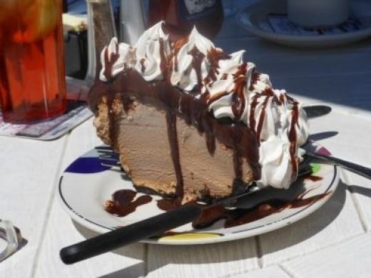 Mud Pie With Coffee Ice Cream