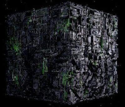 Borg Cube - VOY style