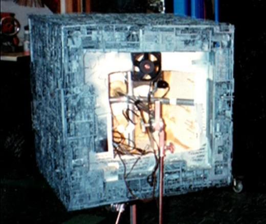 Borg Cube Studio Model