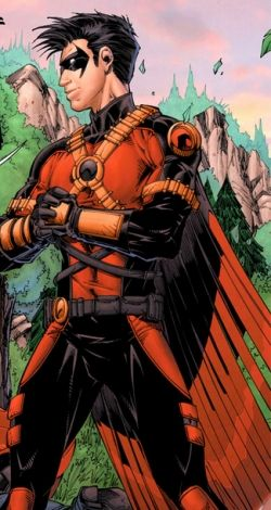 Time Drake as Red Robin