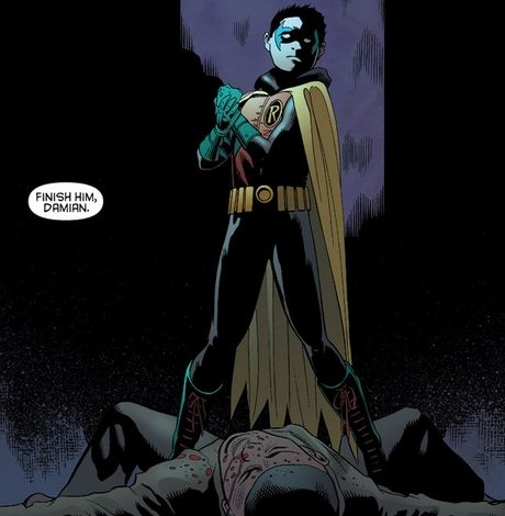 Damian Wayne, Batman's true son