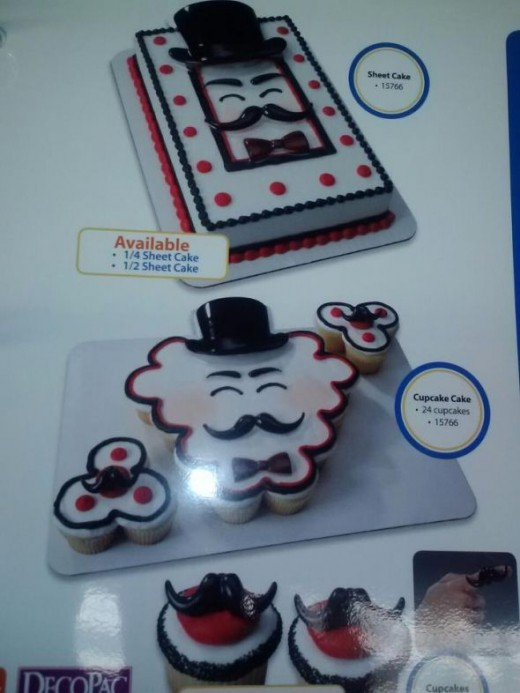PIcture taken at Piggly Wiggly, my daughter decorates cakes.