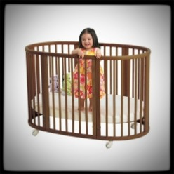 Round Baby Cribs Beds Bassinet