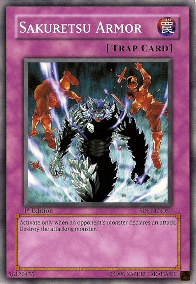 Example Trap Card - Sakuretsu Armor
