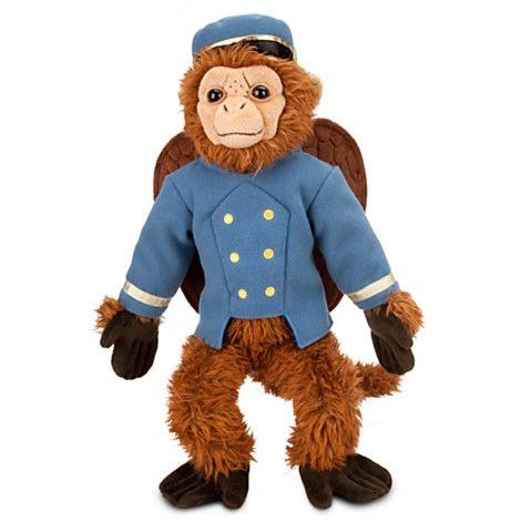 finley the flying monkey plush doll