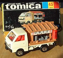 A Tomica Truck from the 80s