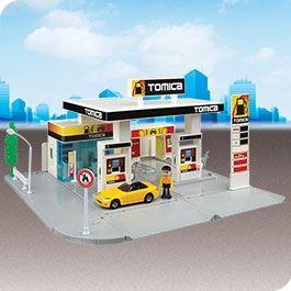 Tomica Hypercity Petrol Station