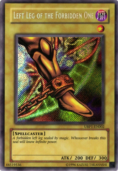 Left Leg of The Forbidden One