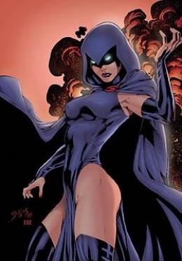 Raven, The Titan, Daughter of Azarath