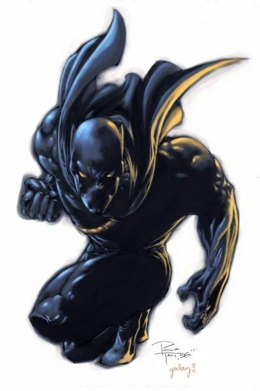 T'Challa, The Black Panther, King of Wakanda