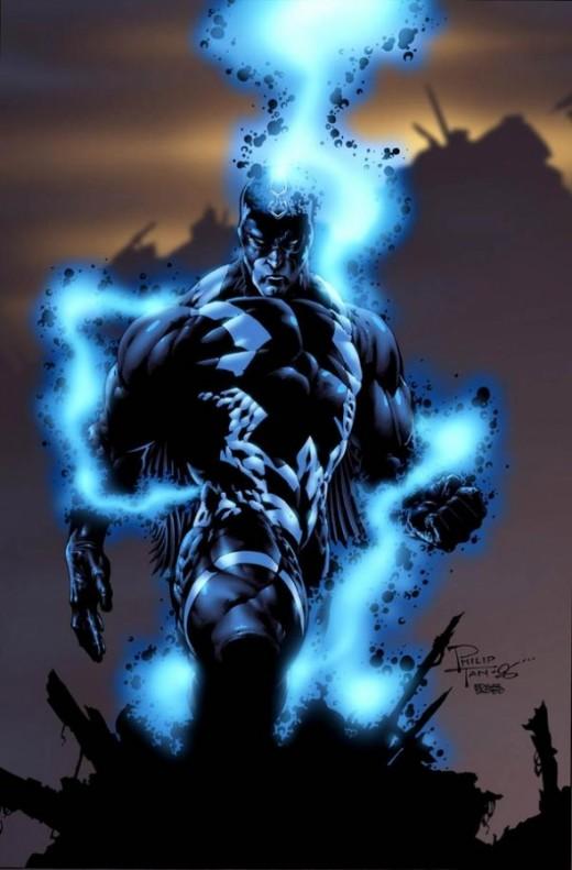 Blackagar Boltagon, The Black Bolt, King of the Inhumans