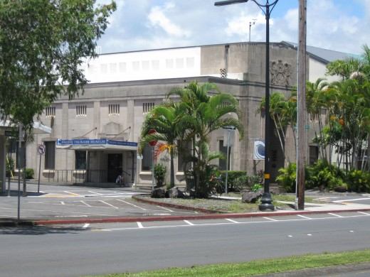 Pacific Tsunami Museum in downtown Hilo, Hawaii